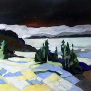 Last Light - Oils on Canvas