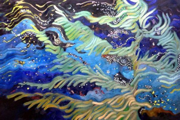 Stars in The Wind - oils on canvas
