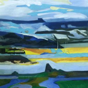 Deans Passage oils on canvas 36x48