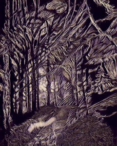 Forest Spirits - Digital for Print