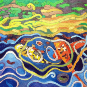 "Image of painting ""Koi"""