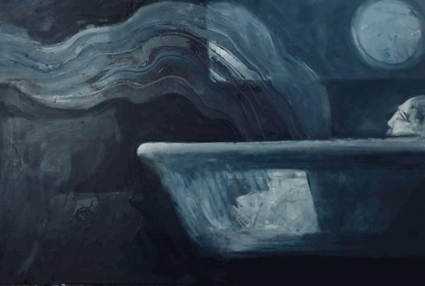"Image of Painting ""Night Life"""