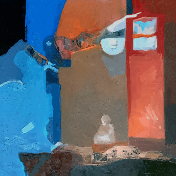 """Image of Painting """"Porch Light"""""""
