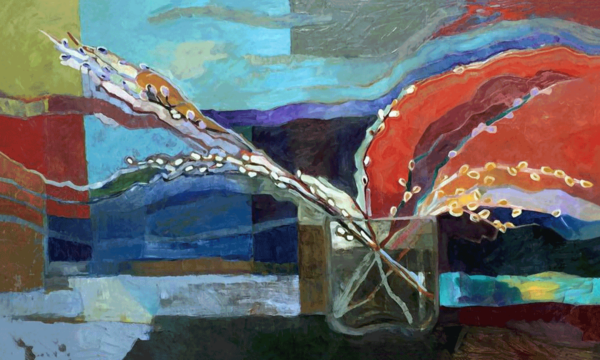 Image of painting: Pussy Willows