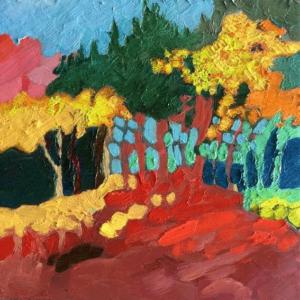 Image of painting: Season Quartet Fall