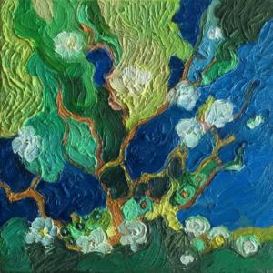 Image of painting: Season Quartet Spring
