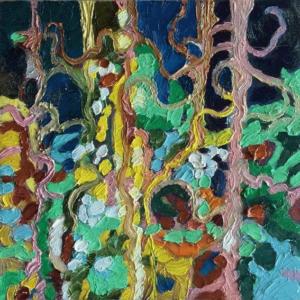 Image of painting: Season Quartet Summer