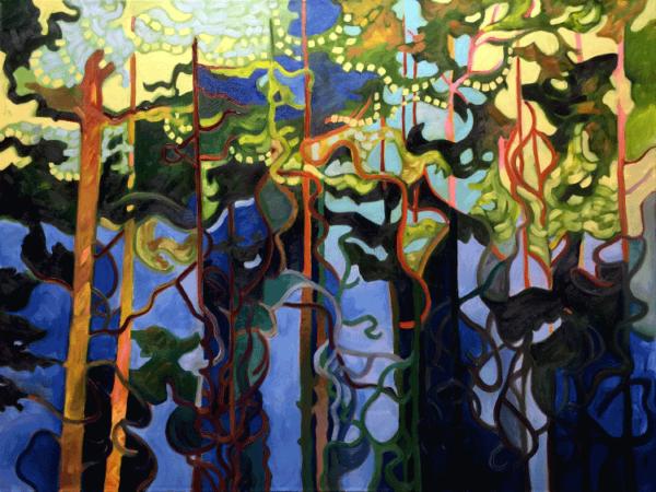 Summer Growth oils on canvas 30x40