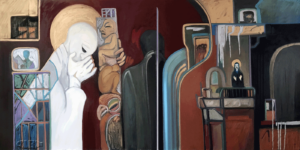 The Confession painting image