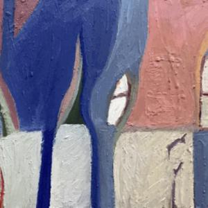 Image of painting: Studio window winter